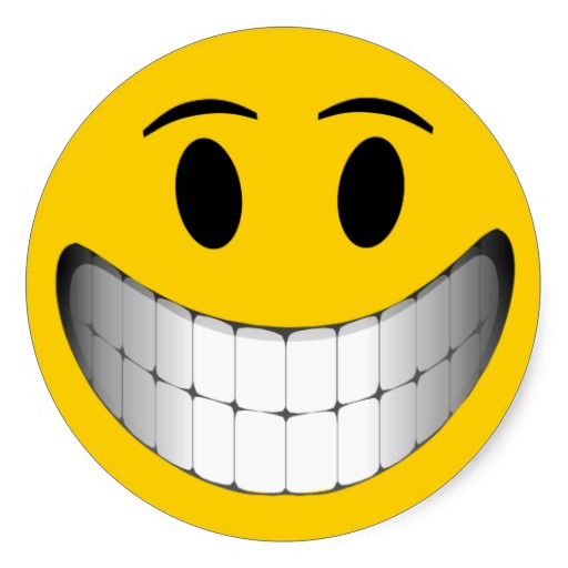 big grin smiley face round stickers from zazzle clipart smiley face clip art free images smiley face clip art free png