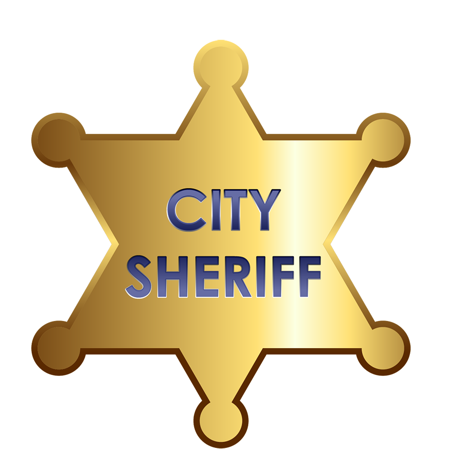 sheriff badge template clipart best