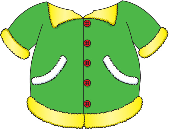 clipart of a jacket - photo #32