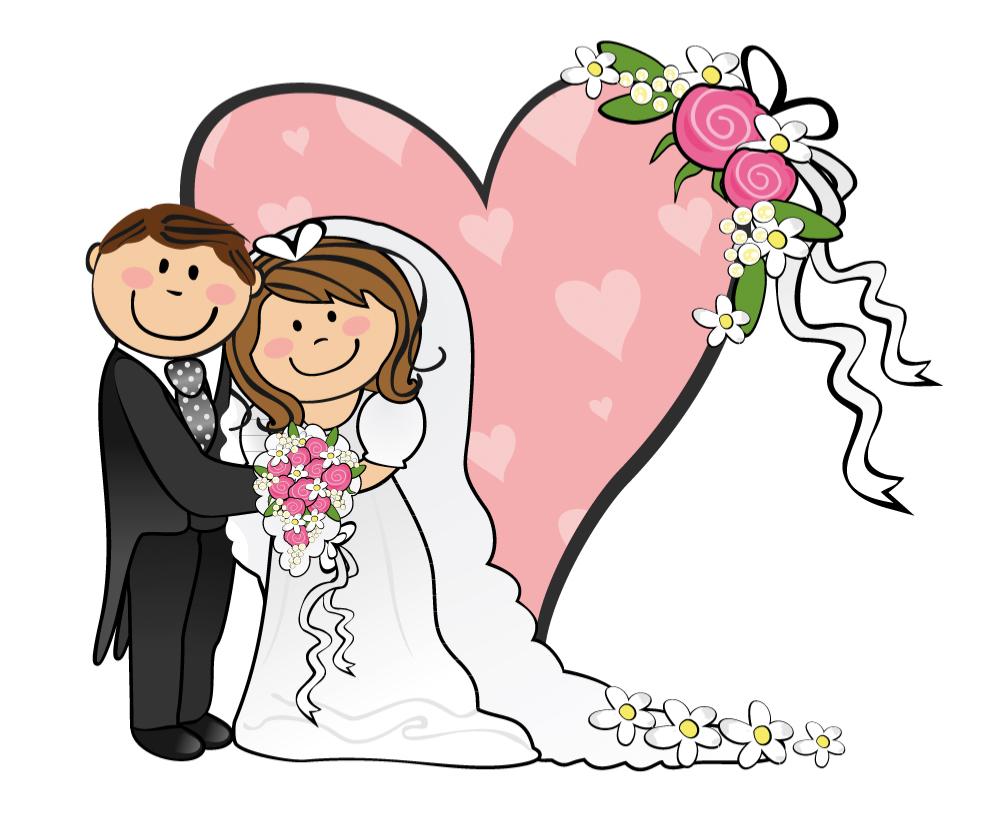 search bride groom cartoon