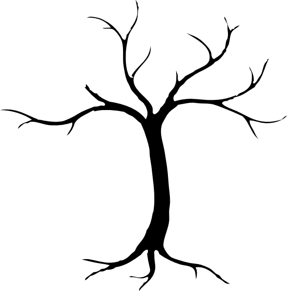 Tree Dead Silhouette - ClipArt Best