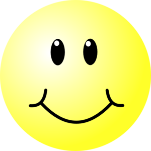 Happy face clipart smiley