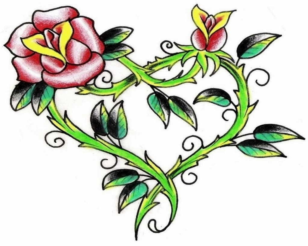 Free Flower Tattoo Designs