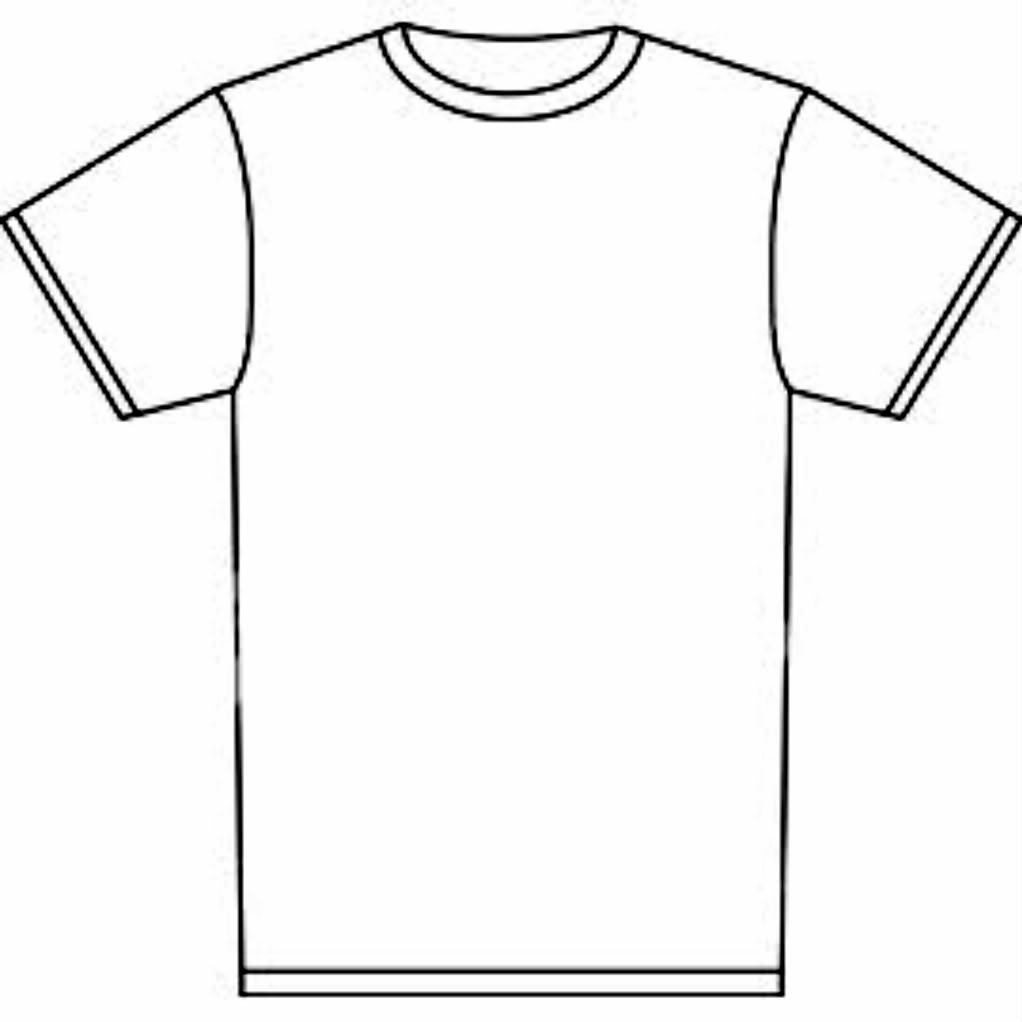 T Shirt Outline Printable - ClipArt Best