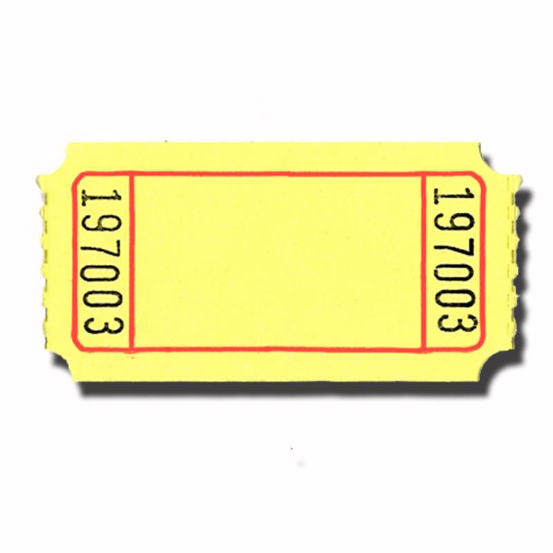Blank Ticket Template Clipart Best