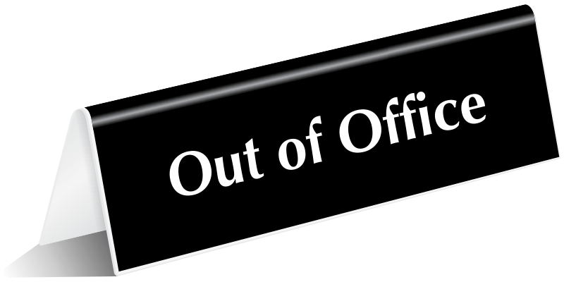 Out Of Office Free Clip Art - ClipArt Best