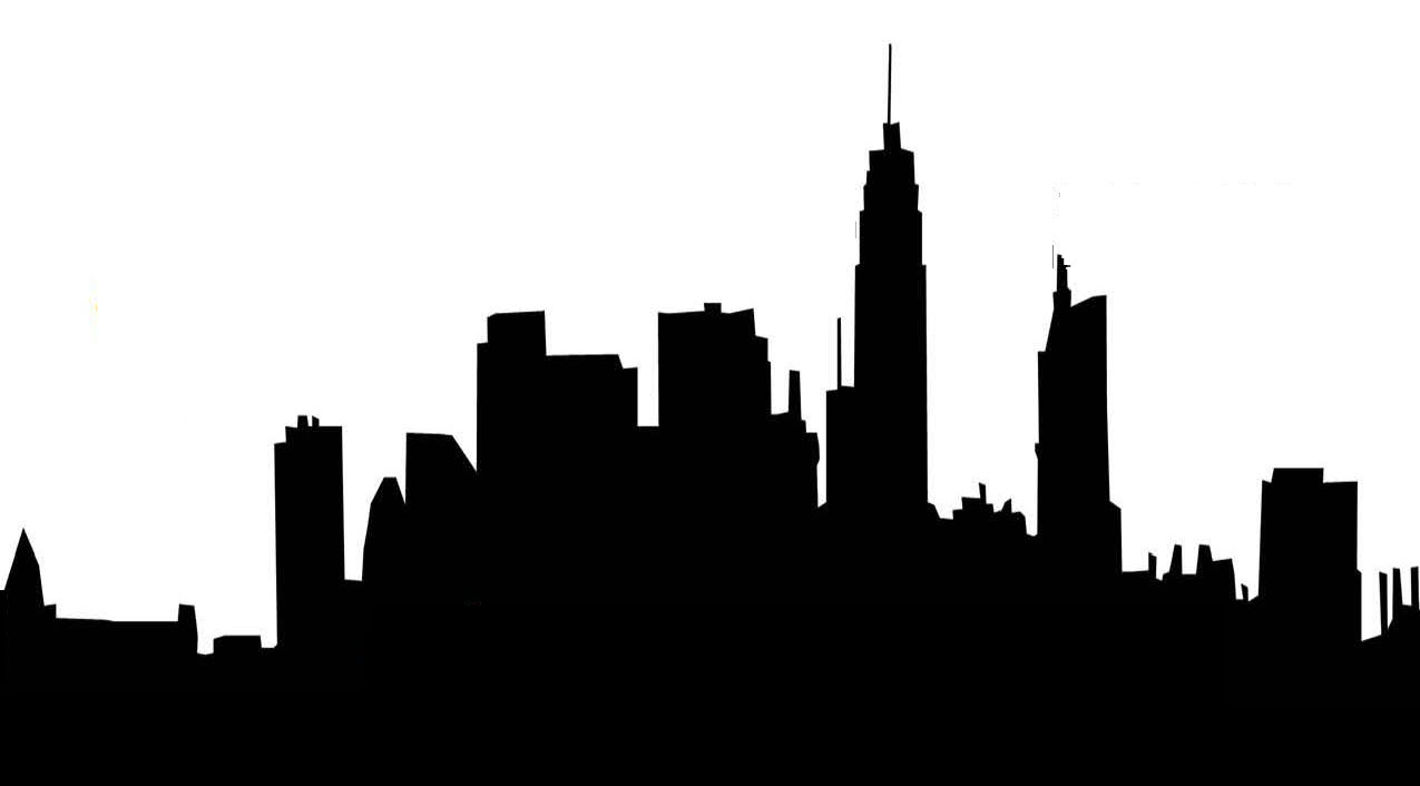 Clip Art City Skyline Clipart city skyline clip art free clipart best silhouette download art