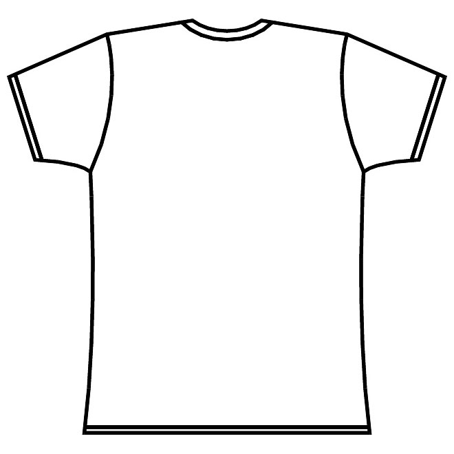 Template long sleeve t shirt clipart best for Long sleeve t shirt template illustrator