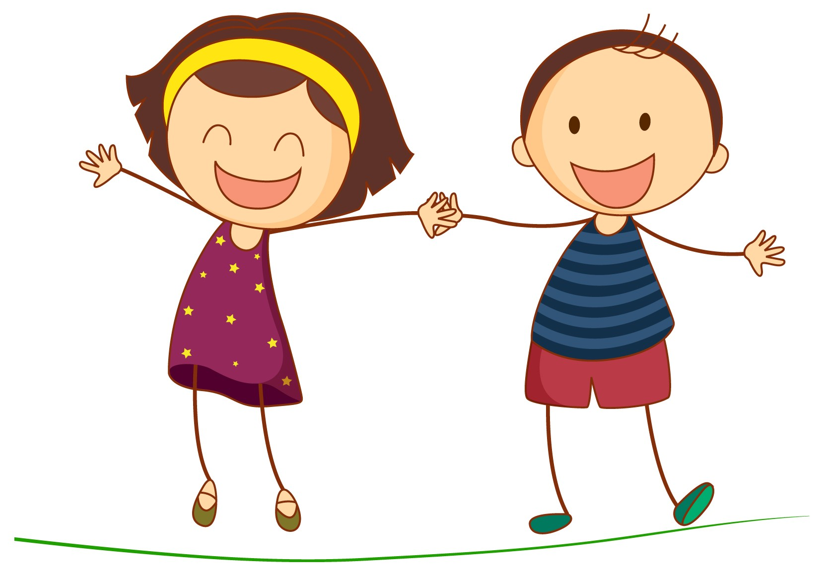 Cartoon Children Playing At School - ClipArt Best