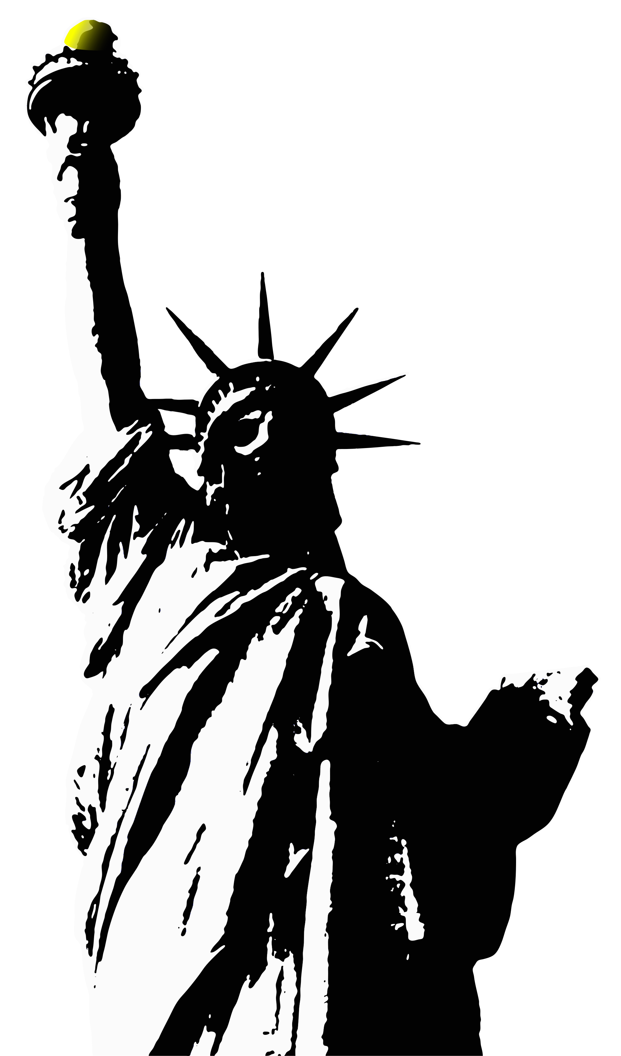 statue Of Liberty Svg - ClipArt Best