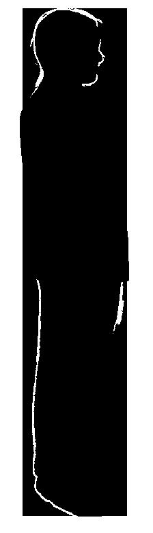 картинка силуэт человека в ночном городе