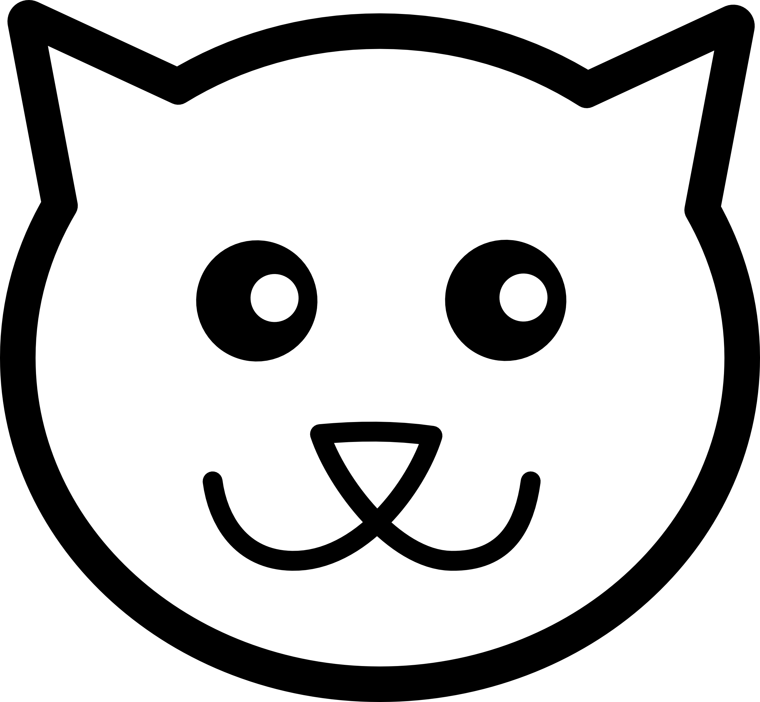 Black And White Cat Face - ClipArt Best