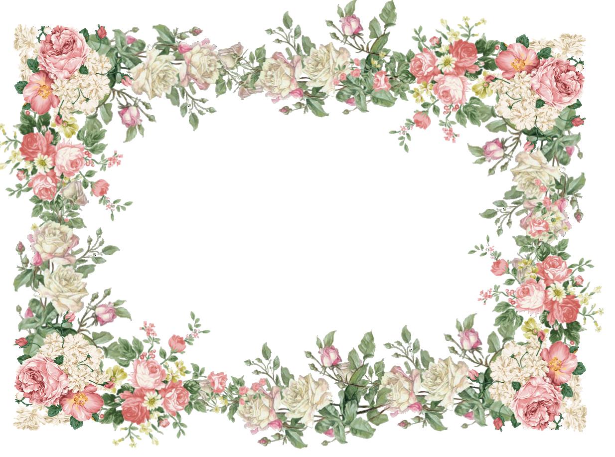 of floral frames - photo #17