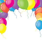 balloons clipart border - photo #26