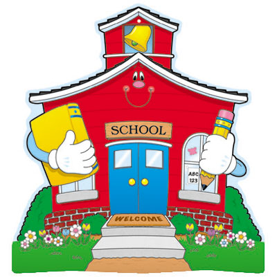 Free Clipart Images School House