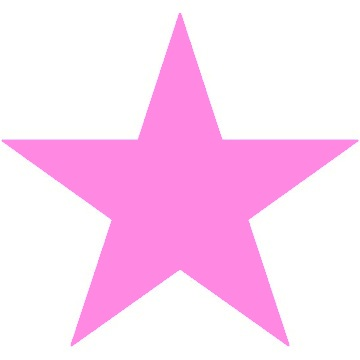 Full Page Pink Star