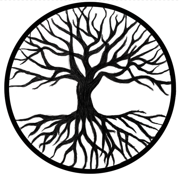 Tree Of Life Clip Art Black And White The Tree Of Life Drawi...