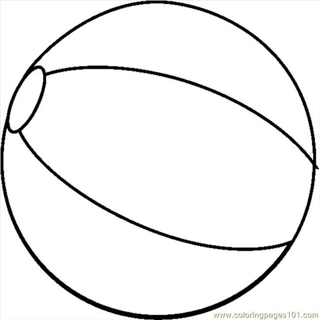 Beach Ball Drawing