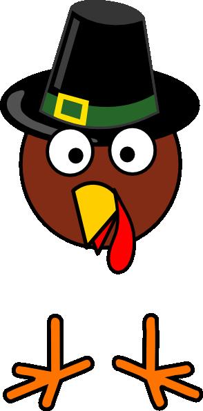 Turkey head clip art