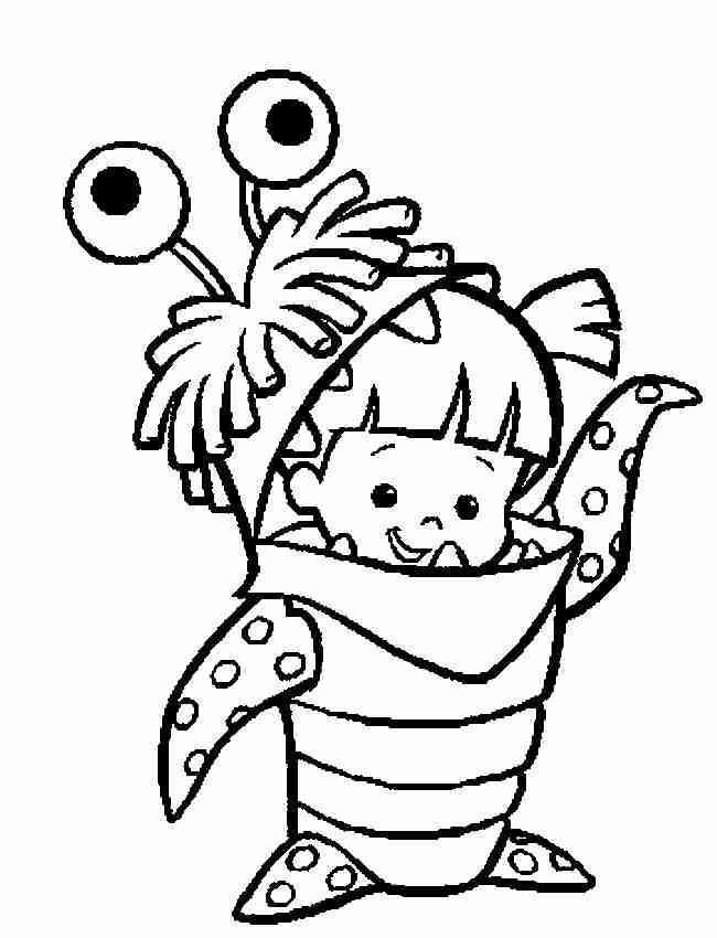 boo boo coloring pages - photo#36