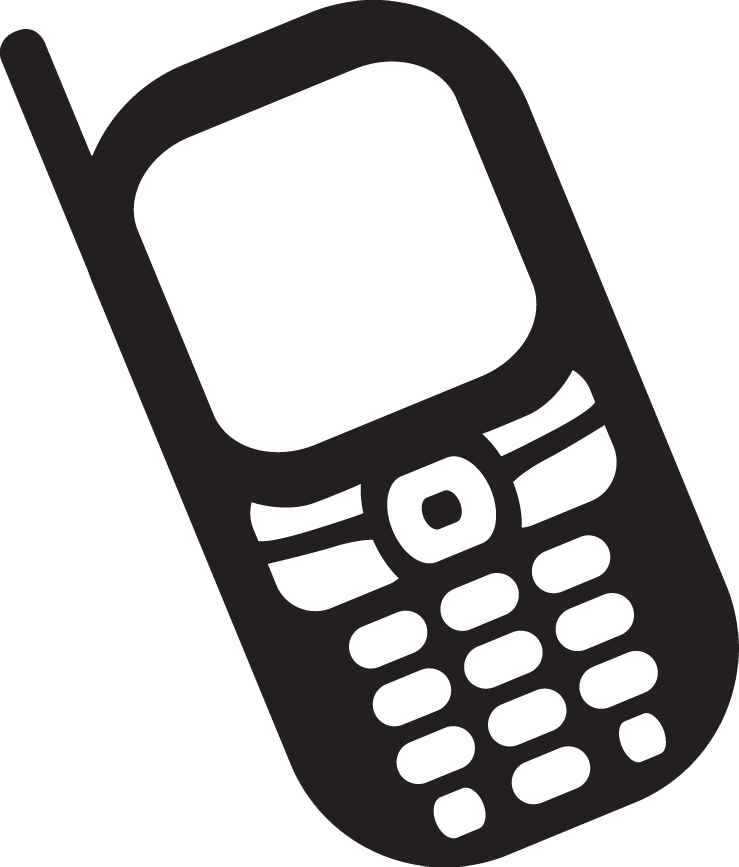 Free Clipart Cell Phone Images
