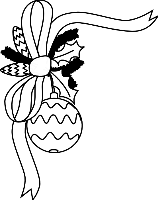 Black And White Holiday Clip Art ClipArt Best