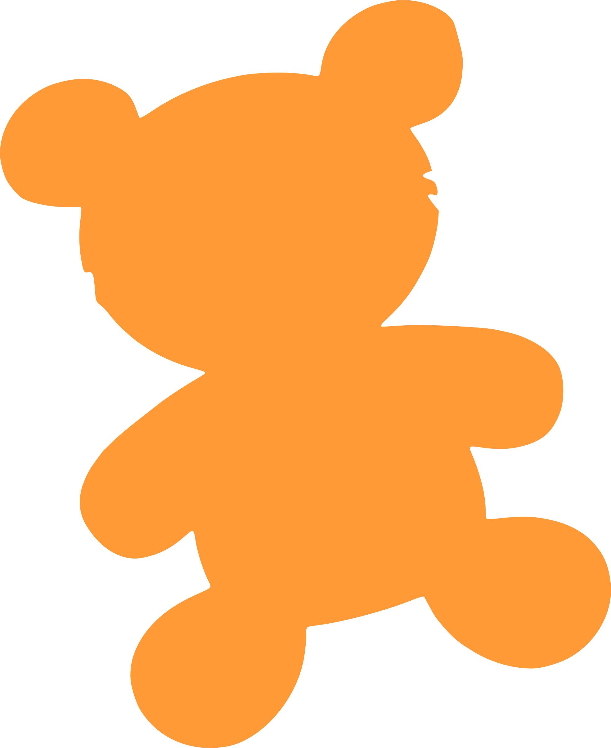 Clip Art: Bear Silhouette Teddy Bear Animal ... - ClipArt Best ...
