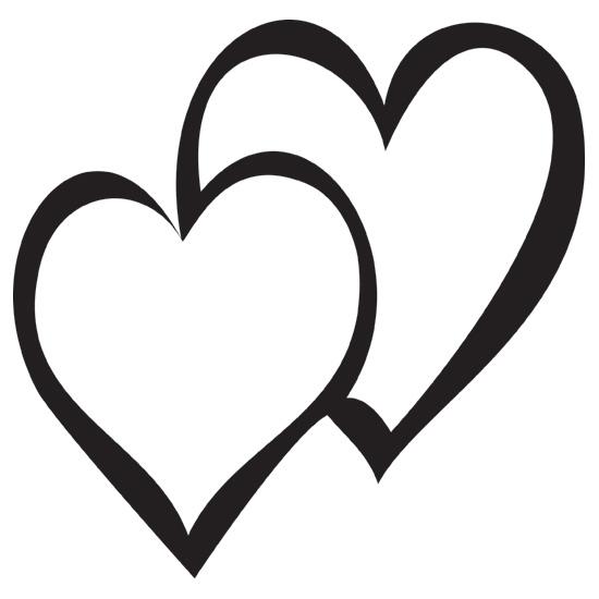 Double Heart Images - ClipArt Best