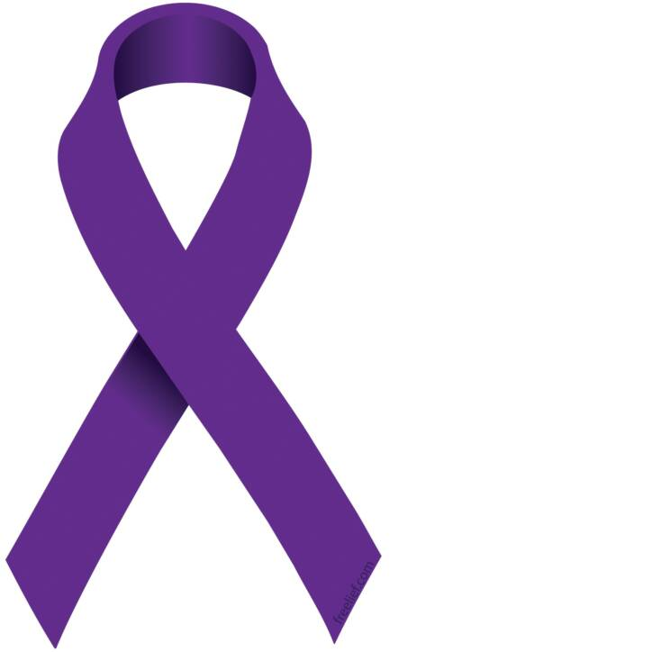 purple ribbon clip art clipart best