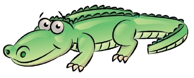 Images of cartoon alligators clipart best for Easy to draw crocodile