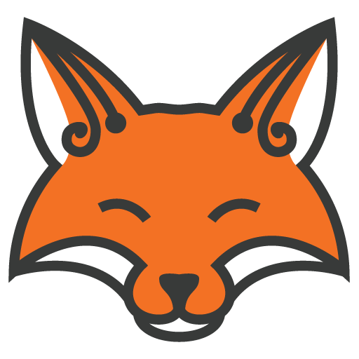Fox Head Outline - Cli...