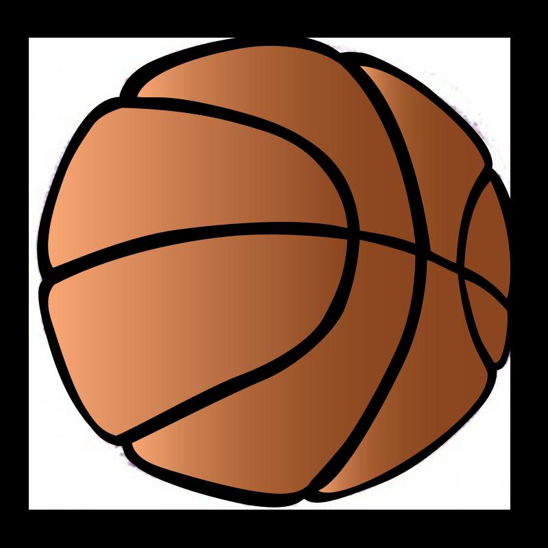 Cartoon Basketball Clipart Clipart Best