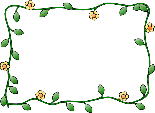 Floral Border Clipart Free Download - ClipArt Best