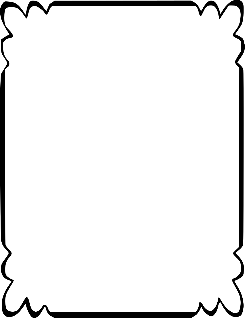 simple pretty page borders clipart best