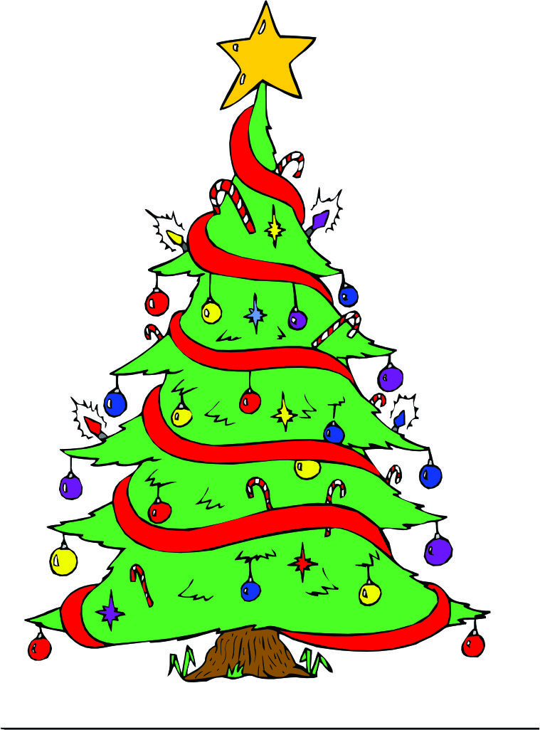 Cartoon Pictures Of Christmas Trees - ClipArt Best