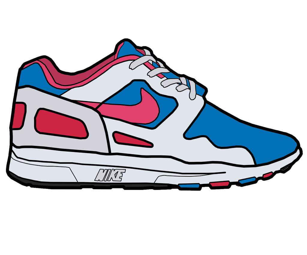 Running Shoe Clipart - ClipArt Best