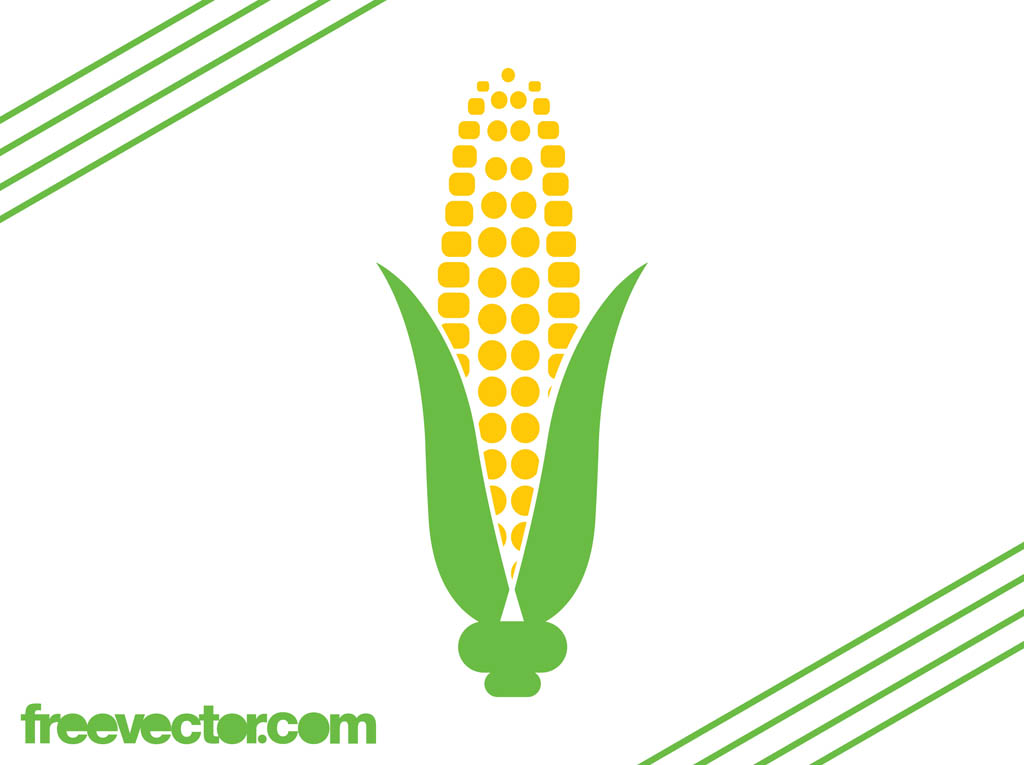 Corn On The Cob Icon Vector Art & Graphics | freevector.com