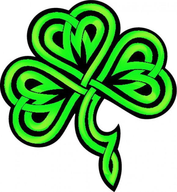 Celtic Shamrocks - ClipArt Best