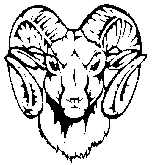 How To Draw A Ram Head