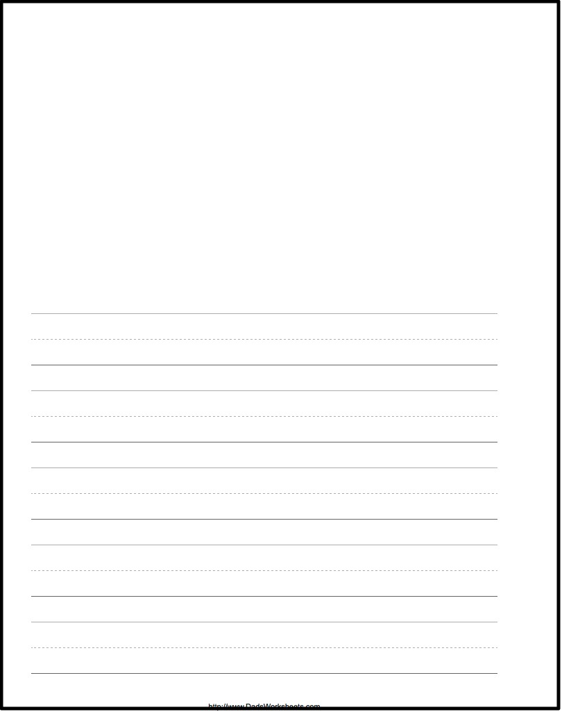blank top writing paper Blank printable writing paper this paper has tracer lines so that early printers can easily write a short note to grandparents or friends.