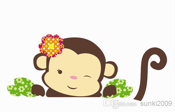 baby girl monkey cartoon clipart best