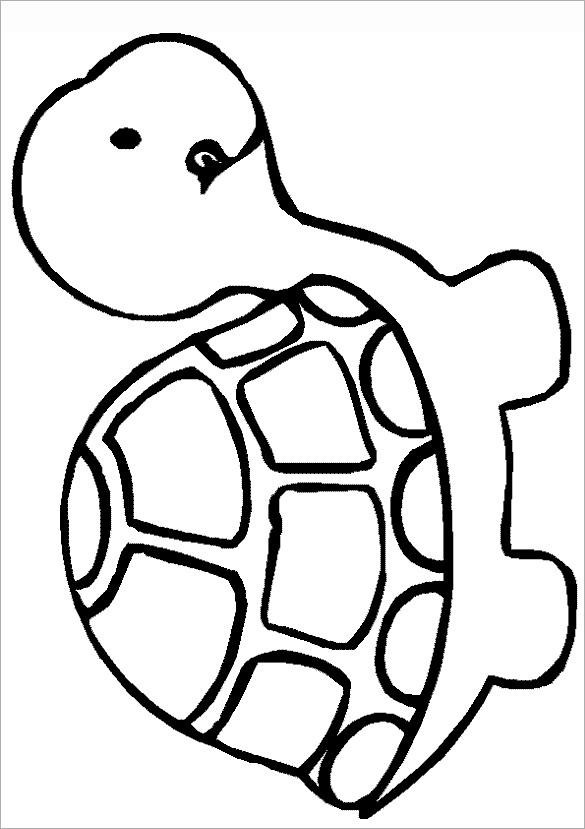Fan image throughout turtle templates printable
