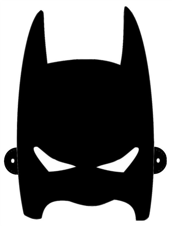 Batman Mask Template | Batman Mask ...