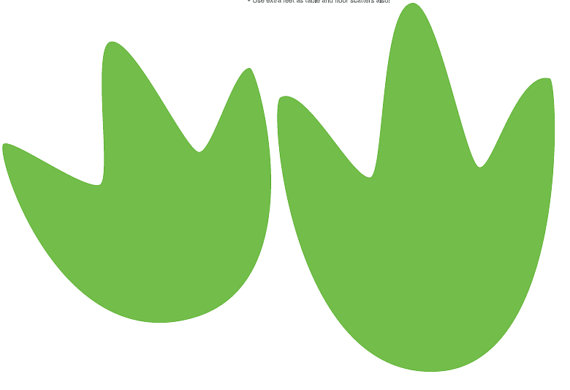 Dinosaur Footprint Images - ClipArt Best