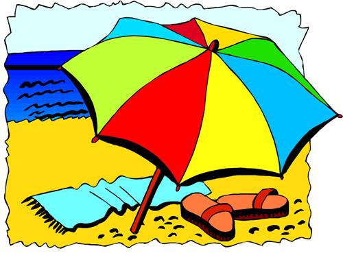 Beach Activities Clipart - ClipArt Best
