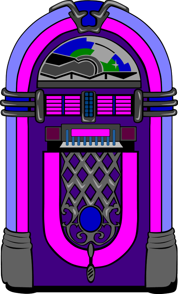 Jukebox clipart