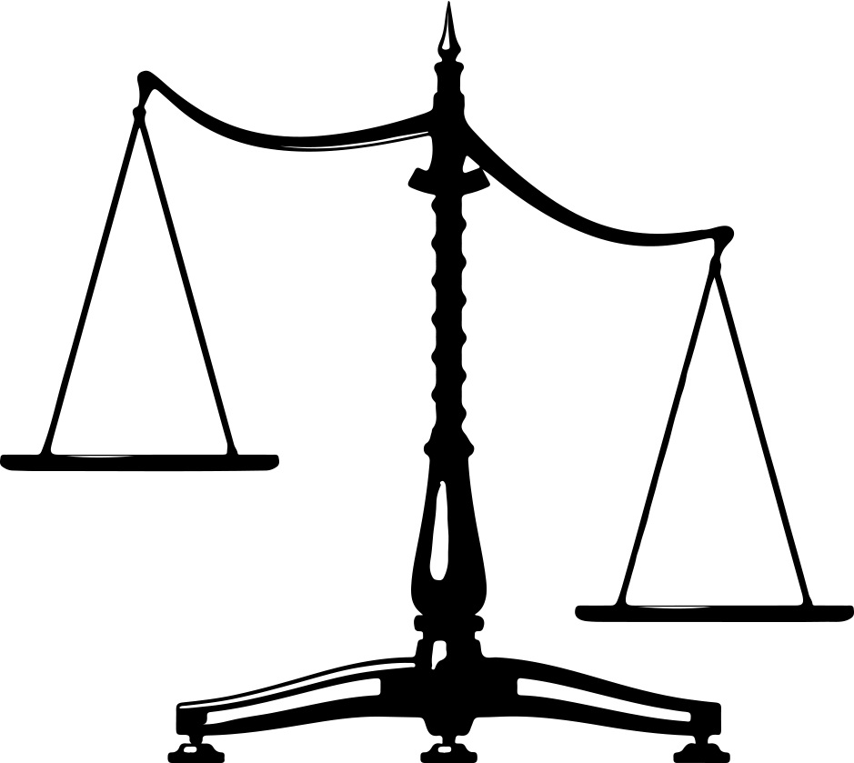 legal scales clipart - photo #44