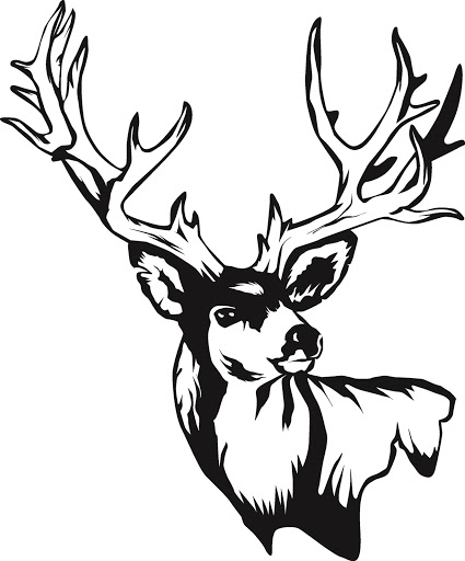 Deer Skull Art - ClipArt Best