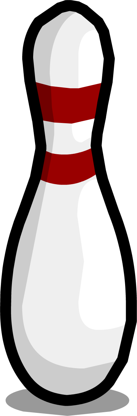 Bowling pin clipart