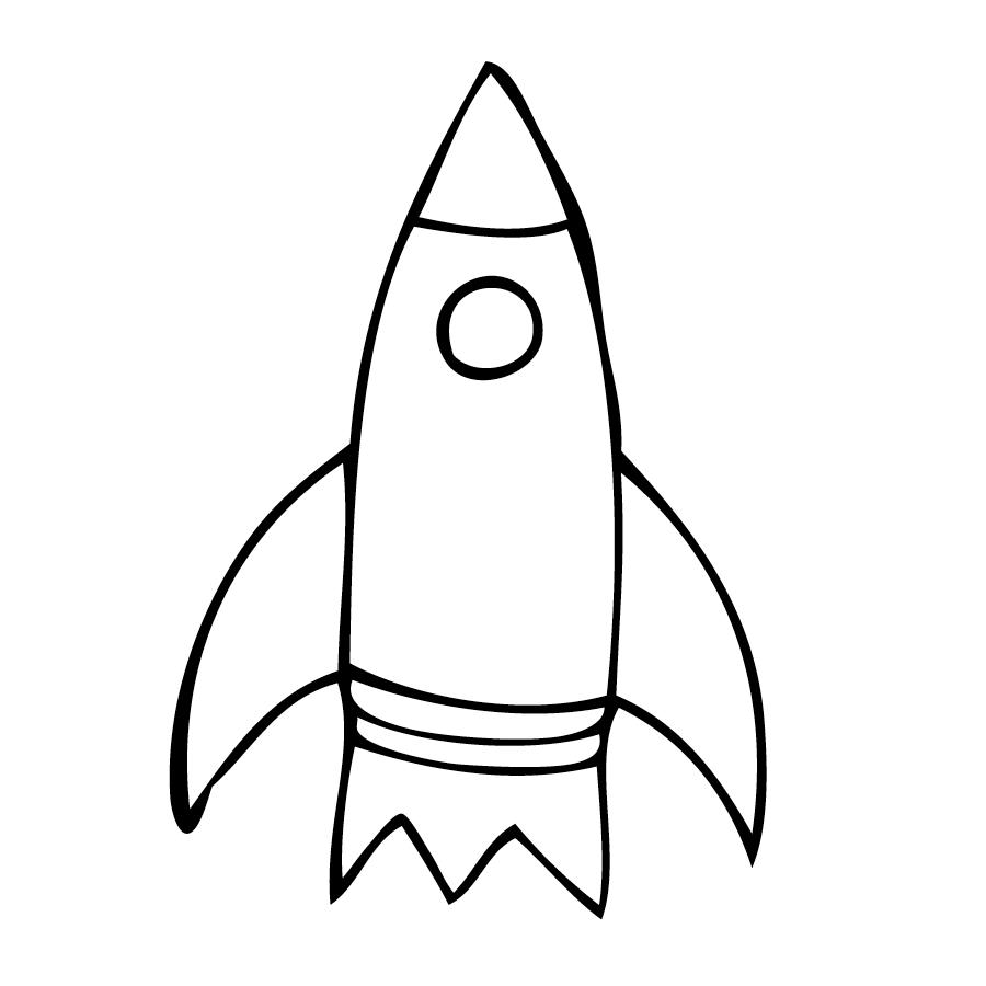 Rocket Coloring Page Free Rocket Coloring Sheet Rocket